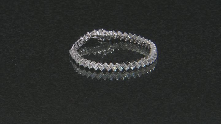 Cubic Zirconia Platineve Bracelet 15.04ctw (12.76ctw DEW)