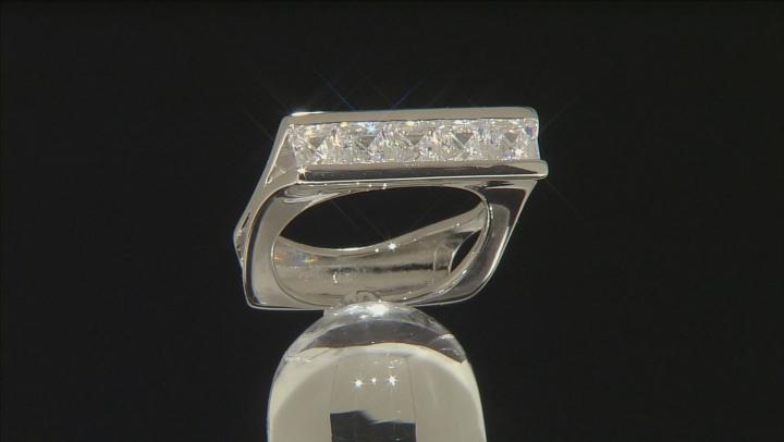 Cubic Zirconia Platineve Ring 2.90ctw (1.95ctw DEW)