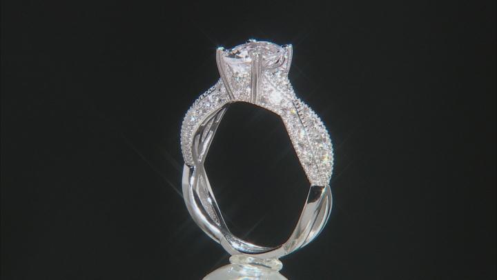 White Danburite Sterling Silver Ring 1.46ctw