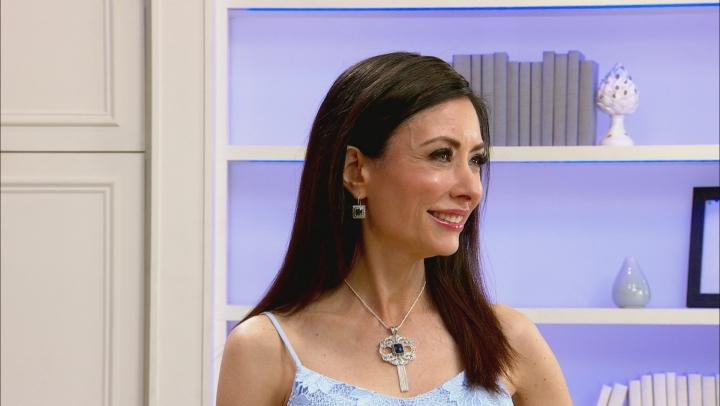 Blue Sapphire Sterling Silver Earrings 6.50ctw