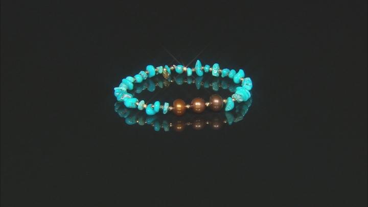 Kingman Turquoise Stretch Bracelet
