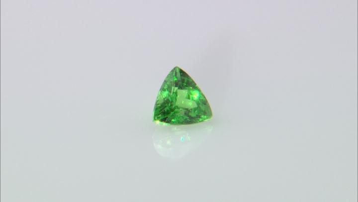 Green Garnet Tsavorite 5mm Trillion .40ct