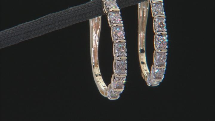 Candlelight Diamonds™ 10k Yellow Gold Earrings 1.00ctw