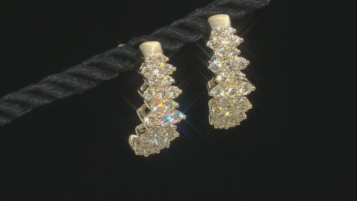 Natural Yellow Diamond 10K Yellow Gold Earrings 1.50ctw