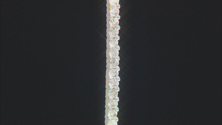 White Diamond 10K Yellow Gold Pendant 0.22ctw