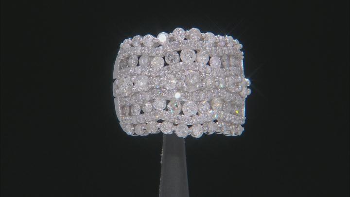 White Diamond 10K White Gold Cocktail Ring 2.50ctw