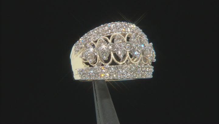 Candlelight Diamonds™ 10k Yellow Gold Open Design Ring 2.00ctw