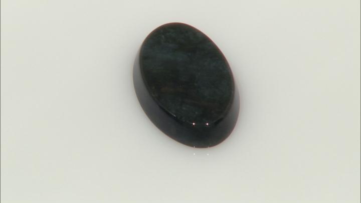 Obsidian 25x15mm Oval Cabochon 13.25ct