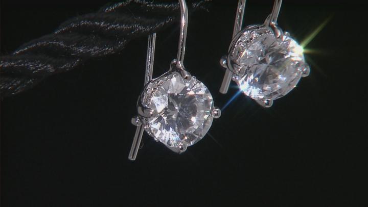 Womens Bella Luce 4.52ctw 7mm Round Cubic Zirconia Platineve ™ Earrings