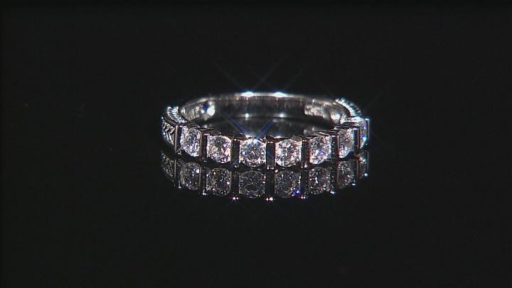 Platineve Cubic Zirconia Ring 1.26ctw