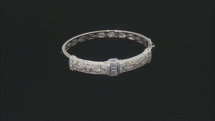 White Cubic Zirconia Platineve Bracelet 5.37ctw