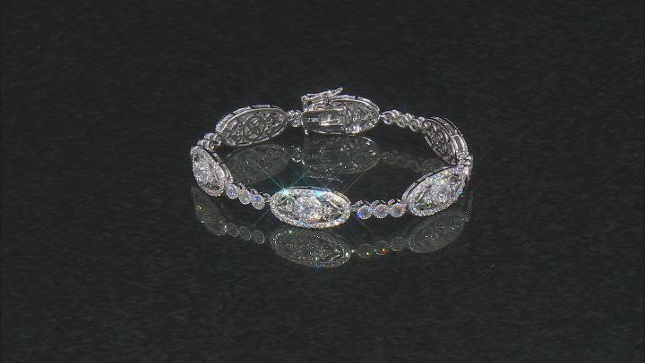 Cubic Zirconia Platineve Bracelet 9.02