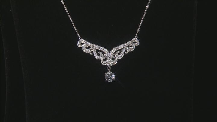 White Cubic Zirconia Platineve Necklace 2.65ctw
