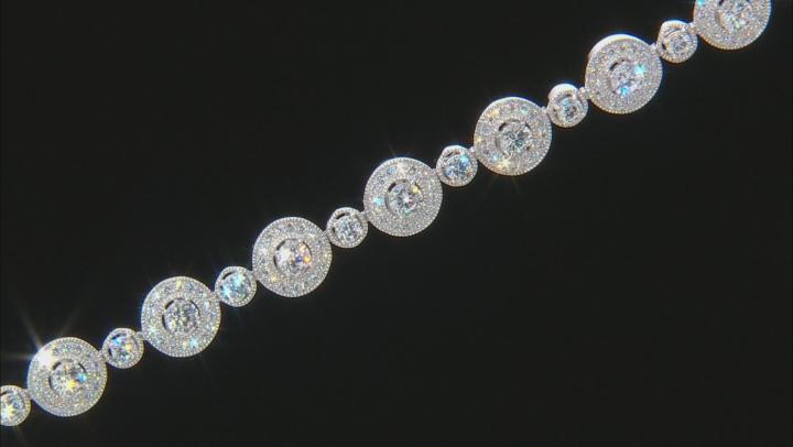 White Cubic Zirconia Platineve Bracelet 9.44ctw