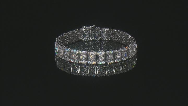 Cubic Zirconia Platineve Bracelet 11.28ctw (6.46ctw DEW)