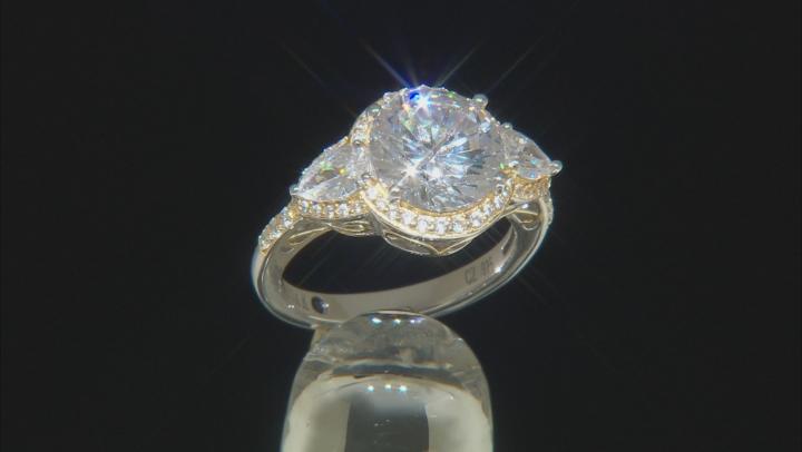 White Cubic Zirconia Platineve Ring 7.50ctw