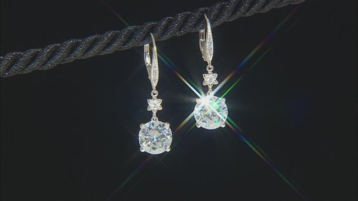 White Cubic Zirconia Platineve Earrings 8.50ctw