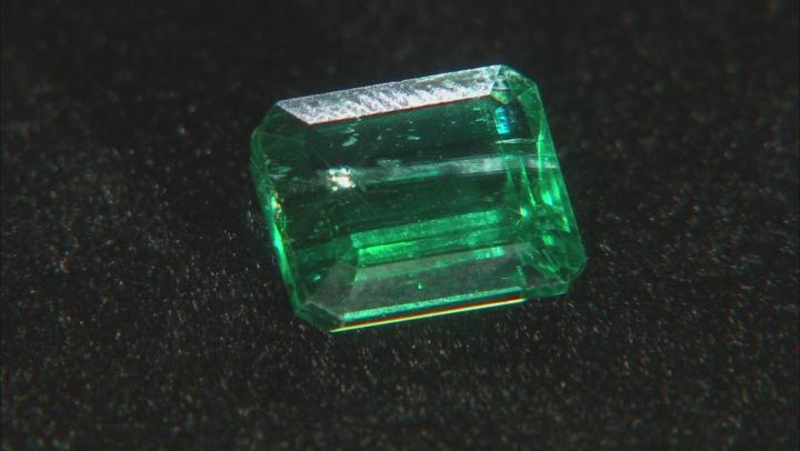 Emerald Untreated 9.8x8.22mm Emerald Cut 4.03ct
