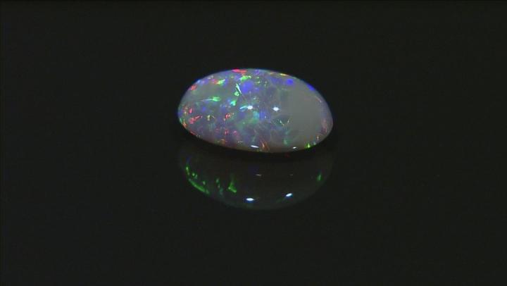 Black Opal 11.9x8.11mm Oval Cabochon 2.93ct