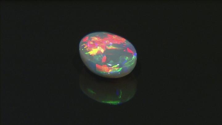 Black Opal 9.5x7mm Oval Cabochon 1.51ct