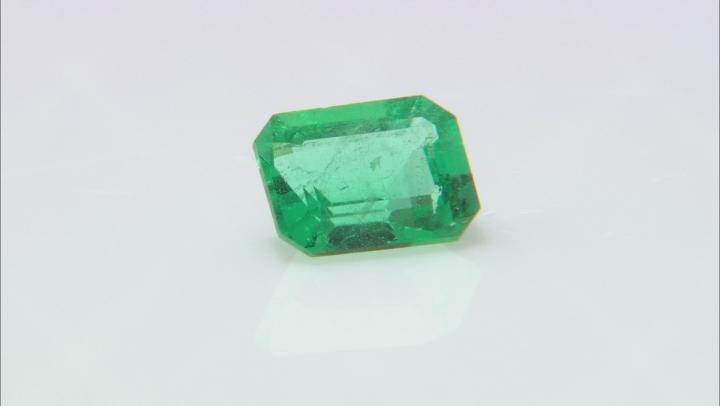 Emerald Ethiopia 8.20x6.25x4.36mm emerald cut 1.50ct