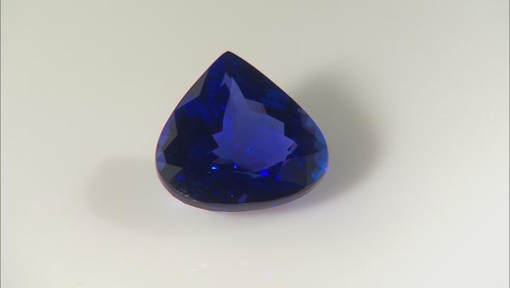 Tanzanite 19.72x19.58mm Pear Shape 27.26ct